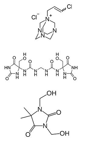 pochodne formaldehydu w kosmetykach